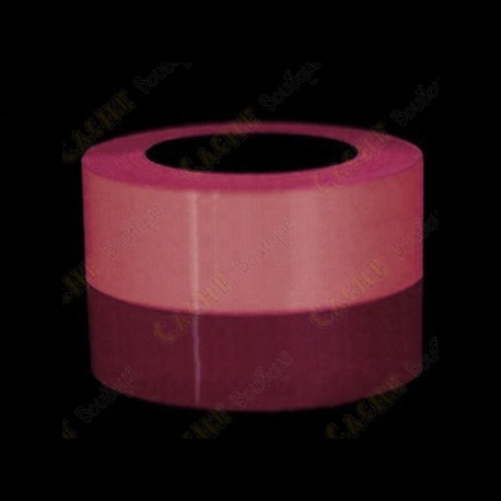 Glow in the dark tape - Pink