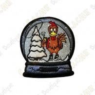 """Christmas globe"" Patch"