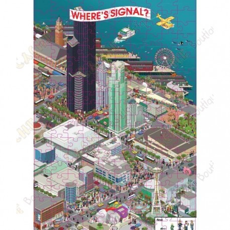 "Puzzle ""Where's Signal?"""
