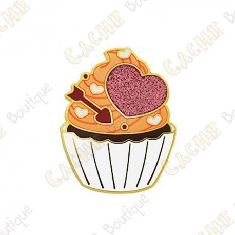 "Geocoin ""Valentine's Day Cupcake"""